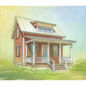 Lowes katrina homes for Lowes cabins kits