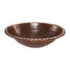 Premier Copper Products Oil-Rubbed Bronze Copper Drop-In Oval Bathroom Sink