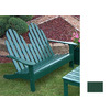 Prairie Leisure Design 35-in W x 50-in L Hunter Green Patio Bench