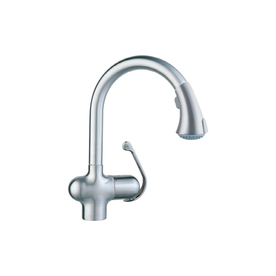 grohe ladylux faucet ean 4005176239717 product image for grohe ladylux stainless steel pulldown kitchen faucet upcitemdb