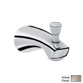 GROHE 7-in Nickel Tub Spout with Diverter