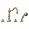 GROHE Bridgeford 2-Handle Adjustable Deck Mount Tub Faucet