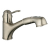 GROHE Ashford Brushed Nickel 1-Handle Pull-Out Kitchen Faucet