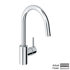 GROHE Concetto Stainless Steel 1-Handle High-Arc Kitchen Faucet