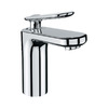 GROHE Ondus Veris Chrome 1-Handle Single hole/4-in Centerset WaterSense Bathroom Sink Faucet (Drain Included)