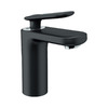 GROHE Ondus Veris Velvet Black 1-Handle Single hole/4-in Centerset WaterSense Bathroom Sink Faucet (Drain Included)