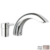 GROHE Concetto Brushed Nickel 1-Handle Adjustable Deck Mount Tub Faucet