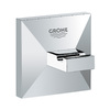 GROHE Allure Brilliant 1-Hook Starlight Chrome Robe Hook