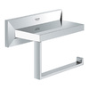 GROHE Allure Brilliant Starlight Chrome Surface Mount Toilet Paper Holder