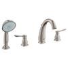 GROHE Parkfield 2-Handle Adjustable Deck Mount Tub Faucet