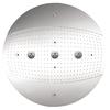 Hansgrohe HG 24-in 2.5-GPM (9.5-LPM) Chrome 3-Spray Rain Showerhead
