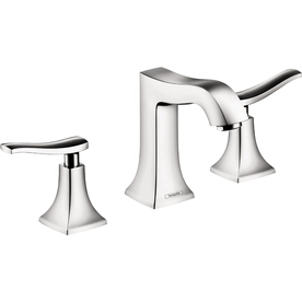 Hansgrohe Metris C Chrome 2-Handle Widespread WaterSense Bathroom Faucet (Drain Included)