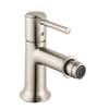 Hansgrohe Talis C Brushed Nickel Horizontal Spray Bidet Faucet