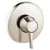 Hansgrohe Nickel Tub/Shower Trim Kit