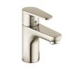 Hansgrohe Talis Brushed Nickel 1-Handle Single Hole WaterSense Bathroom Faucet (Drain Included)
