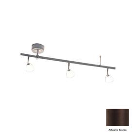 Shop Bruck Lighting Systems Enzis 3 Light Standard Bronze