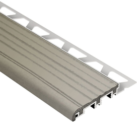 Schluter Systems 1-in W x 98.5-in L Aluminum Commercial/Residential Tile Edge Trim