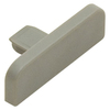Schluter Systems Schluter Trep 0.406-in x 1.031-in Grey Unfinished PVC Stair Nosing