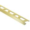 Schluter Systems JOLLY EDG Trim 1/4-in SAT Brass ANOD ALU