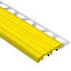 Schluter Systems TREP-B 1/2-in /ALU Base/ 2-1/8-in PVC Yellow