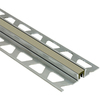 Schluter Systems 7/16-in W x 1/2-in D Grey Aluminum Joint