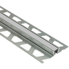 Schluter Systems 7/16-in W 1/2-in D Clay Grey Aluminum Joint