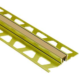 Schluter Systems 5/16-in x 7/16-in Light Beige Joint Trim
