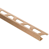 Schluter Systems 1/2-in Brushed Copper Anodized Aluminum Edge Trim