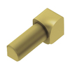 Schluter Systems 1/4-in Satin Brass Anodized Aluminum Right-Angle Trim