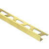 Schluter Systems JOLLY EDG Trim 1/4-in BRSH Brass ANOD ALU