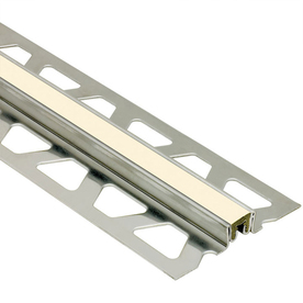 Schluter Systems 0.625-in W x 98.5-in L Steel Commercial/Residential Tile Edge Trim