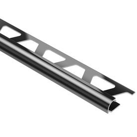 Schluter Systems 3/8-in Black Anodized Aluminum Rondec Bullnose Trim