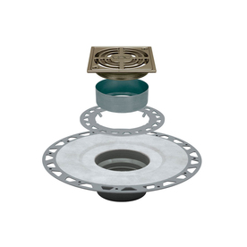 Schluter Systems Schluter Kerdi Brushed Nickel Anodized Aluminum Shower Drain