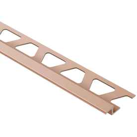 Schluter Systems 1/4-in Satin Copper Reducer