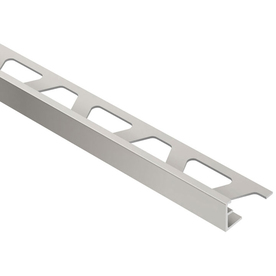 "Schluter Systems Jolly  3/8"" Satin Anodized Aluminum"