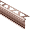 Schluter Systems 5/16-in Brushed Copper Anodized Aluminum Trim