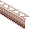 Schluter Systems 3/8-in Satin Copper Anodized Aluminum Trim
