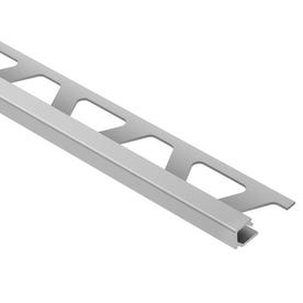 Schluter Systems QUADEC Right Angle Edge Trim 3/8-in Satin Aluminum