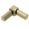 Schluter Systems 1/2-in Brass Stainless Steel Aluminum Double Leg In Corner Trim