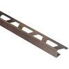 "Schluter Systems Jolly Edge Trim 3/8"" Antique Bronze Anodized Aluminum"