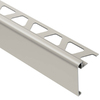 Schluter Systems 57-3/8-in Satin Nickel Aluminum Step Trim
