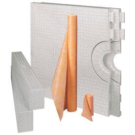 Schluter Systems Kerdi White Styrene Shower Kit
