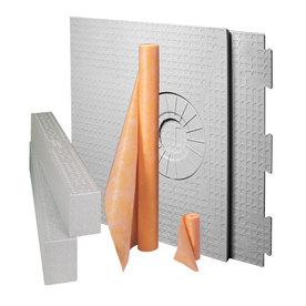 Schluter Systems White Styrene Shower Kit