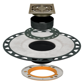 Schluter Systems KERDI-DRAIN RES Adaptor Kit ABS 4-in Grate ATGB
