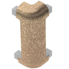 Schluter Systems RONDEC-CT Out CRN 90° 5/16-in Tuscan Beige