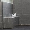 Schluter Systems Schluter Kerdi White Shower Wall Corner Shower Bench