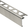 Schluter Systems 39-5/16-in Brushed Nickel Aluminum Step Trim