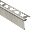 Schluter Systems 39-3/8-in Brushed Nickel Aluminum Step Trim