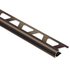 Schluter Systems 3/8-in Antique Bronze Aluminum Bullnose Trim