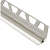 Schluter Systems 9/16-in Brushed Nickel Anodized Aluminum Trim